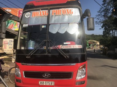 Hoang Phuong Bus to Pu Luong