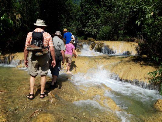visit Hieu Waterfall