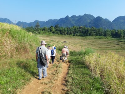 Hiking Tour In Summer