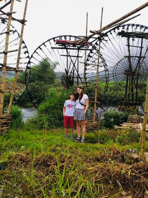 Water Wheels in Pu Luong