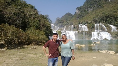 Marvel at Ban Gioc Waterfall