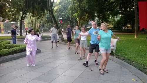 TaiChi Exercises In Ha Noi City - sapa vietnam