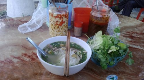 Enjoy The Noodle Soup At Bat Dan Street