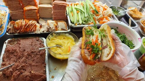 Taste Banh My Ha Noi In Hanoi Vietnam