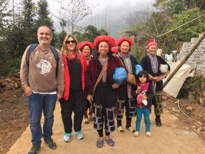 Chat With Red Dao Ethnic In Sa Pa