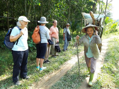 Trekking In The Centre Of Pu Luong