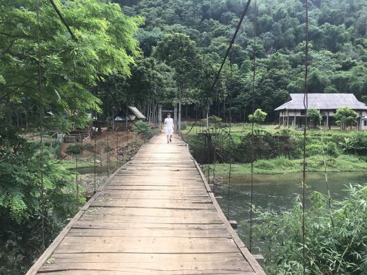 The Bridge in Pu Luong Nature Reserve
