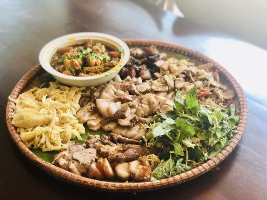 Local Foods At Pu Luong The Deer Restaurant
